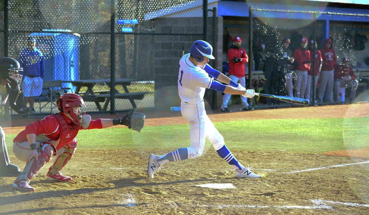 Darien's Henry Williams is a threat both at the plate, on the mound and in the field.
