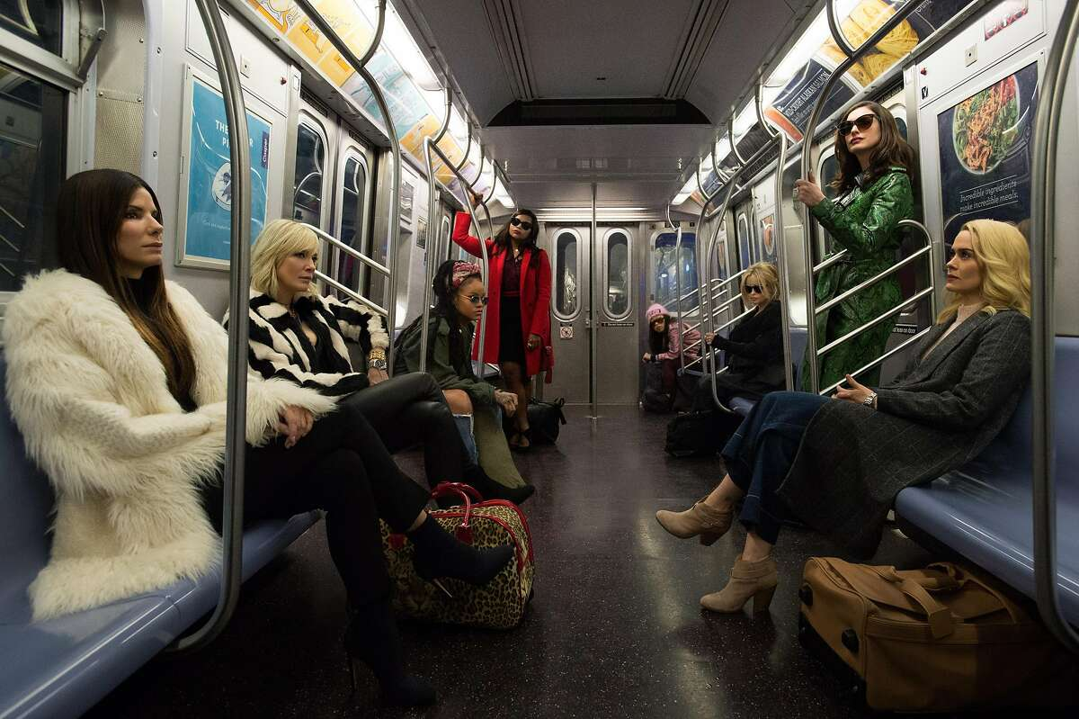 """""""Oceans 8"""" is a crime thriller comedy starring Sandra Bullock, leading a new group of women on a big heist."""