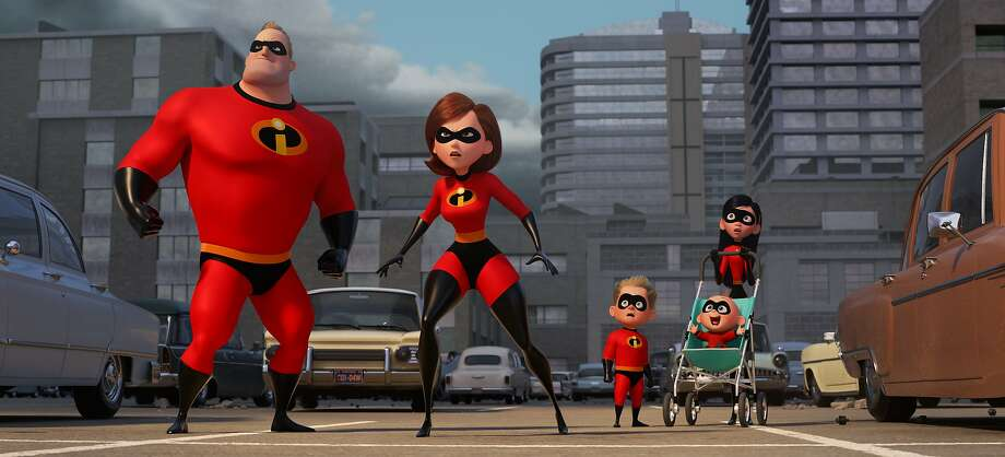 """Incredibles 2"" brings back the superhero family from the popular 2004 Pixar film. Photo: Pixar Animation Studios 2004"