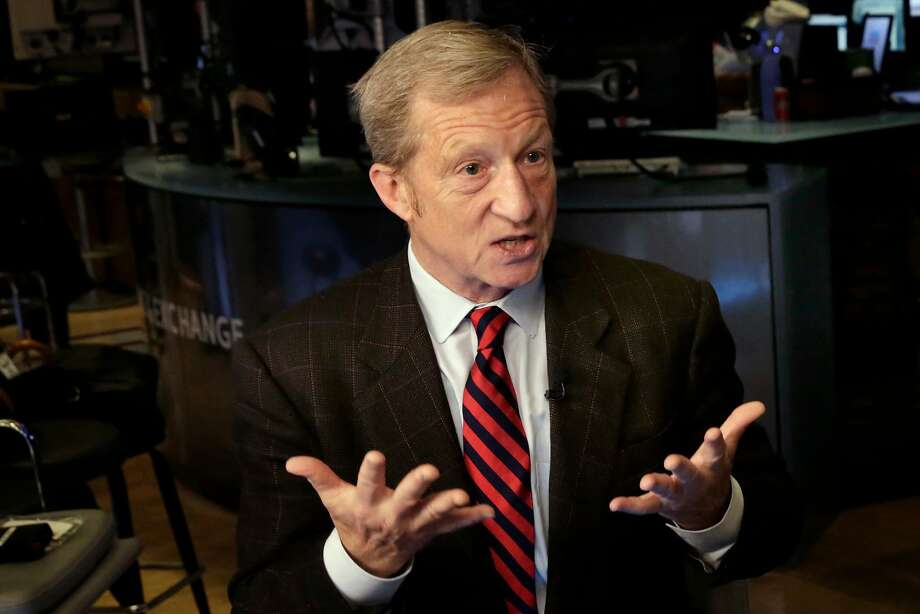 Billionaire Tom Steyer is a leading Democratic activist and fundraiser. Photo: Richard Drew / Associated Press