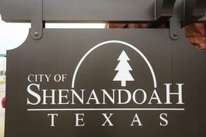 A sign for the City of Shenandoah is pictured on Monday, Aug. 7, 2017.