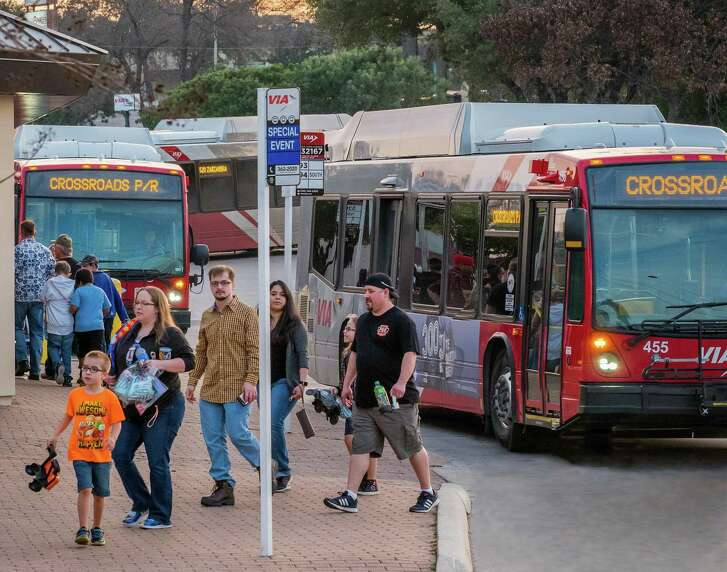 VIA will offer park and ride service to several of Fiesta's biggest events. For details, go to VIAinfo.net.