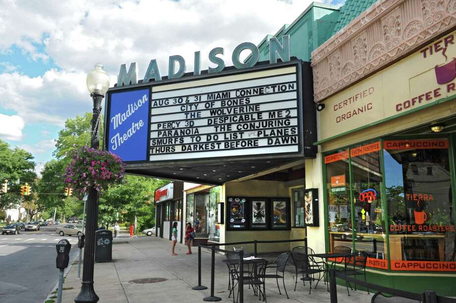 Exterior of the Madison Theatre on Thursday, Sept. 5, 2013 in Albany, N.Y. The theatre has a new owner. (Lori Van Buren / Times Union) Photo: Lori Van Buren / 00023782A