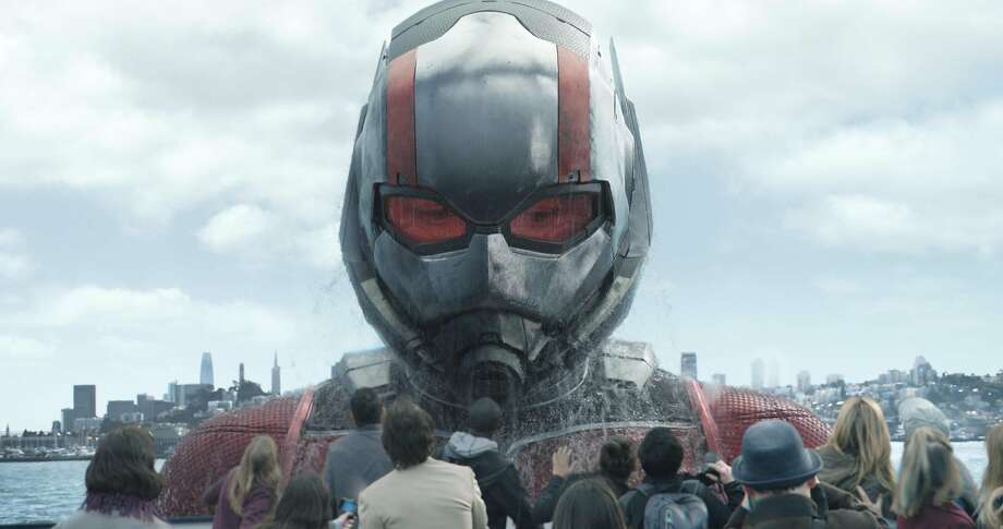 """Paul Rudd is Ant-Man in the sequel """"Ant-Man and the Wasp,"""" which once again centers around San Francisco. Photo: Marvel Studios"""