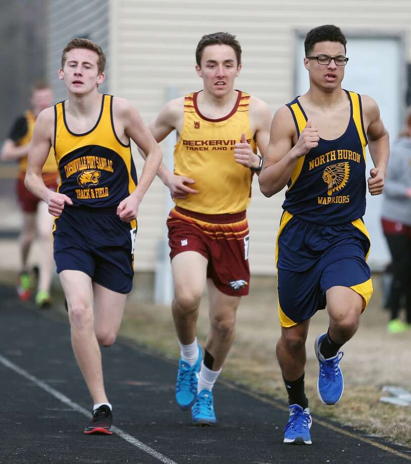 North Huron Track & Field Quad 2018 Photo: Paul P. Adams/Huron Daily Tribune