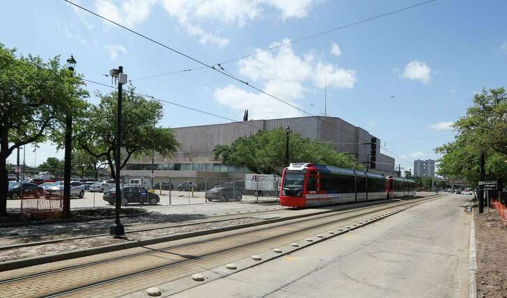 Plans were unveiled for Houston's Midtown innovation district in a news conference at the historic Sears building Thursday, April 12, 2018, in Houston. ( Steve Gonzales / Houston Chronicle )