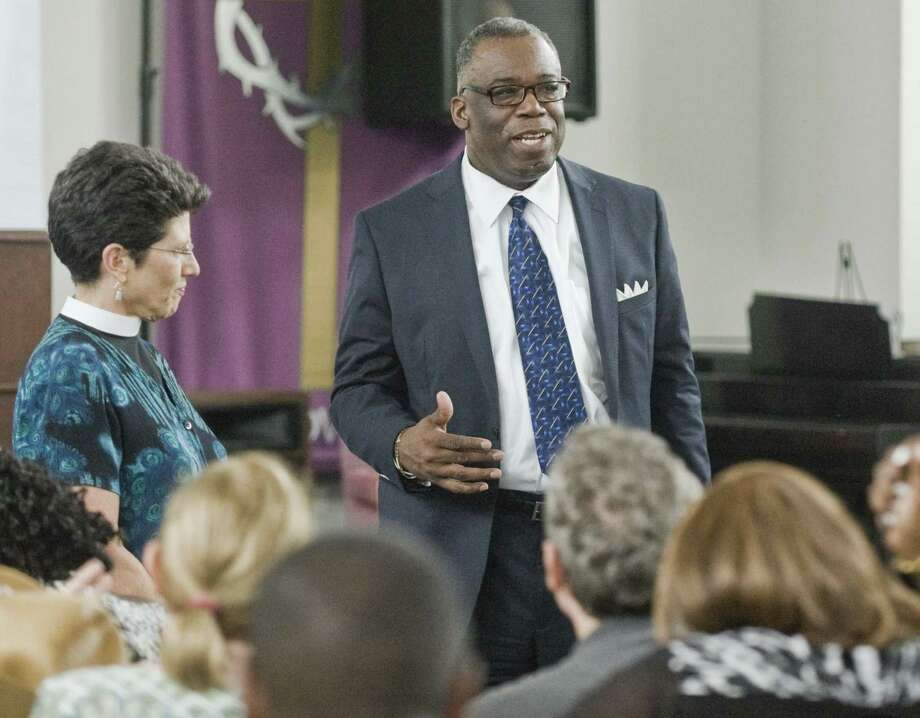 Dr. Tommie Jackson, pastor pastor of Rehoboth Fellowship Church in Stamford. Photo: File Photo / The News-Times Freelance