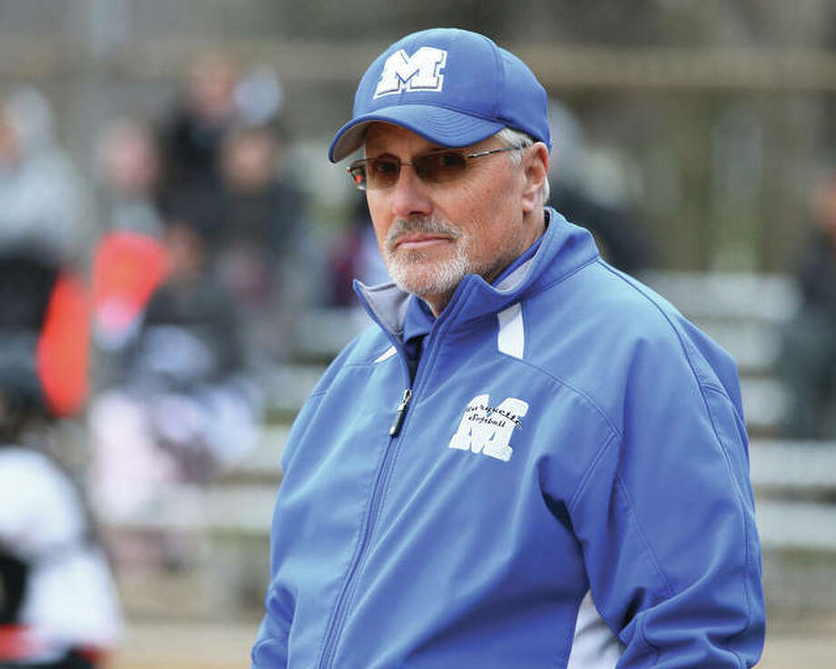 Marquette Catholic gave coach Dan Wiedman career victory No. 500 Thursday with a victory over Springfield SHG in Springfield.