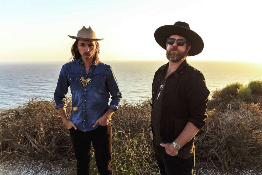 Devon Allman, son of Gregg, and Duane Betts, son of Dickey, will play together at the Katharine Hepburn Cultural Arts Center in Old Saybrook. Photo: Courtesy Of Big Hassle Media