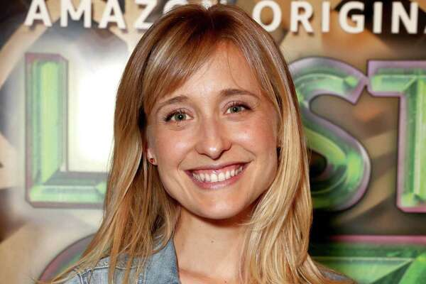 "HOLLYWOOD, CA - AUGUST 01:  Allison Mack attends Amazon Studios' premiere for ""Lost In Oz"" at NeueHouse Los Angeles on August 1, 2017 in Hollywood, California.  (Photo by Todd Williamson/Getty Images for Amazon Studios)"