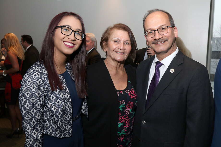 Were you Seen  at the Pre-Inauguration Dinner celebrating the 20th President of the University at Albany Dr. Havidán Rodríguez and his wife Rosy López at the Cancer Research Center on  the UAlbany Health Sciences Campus on Thursday, April 12, 2018? Photo: Joe Putrock/University At Albany