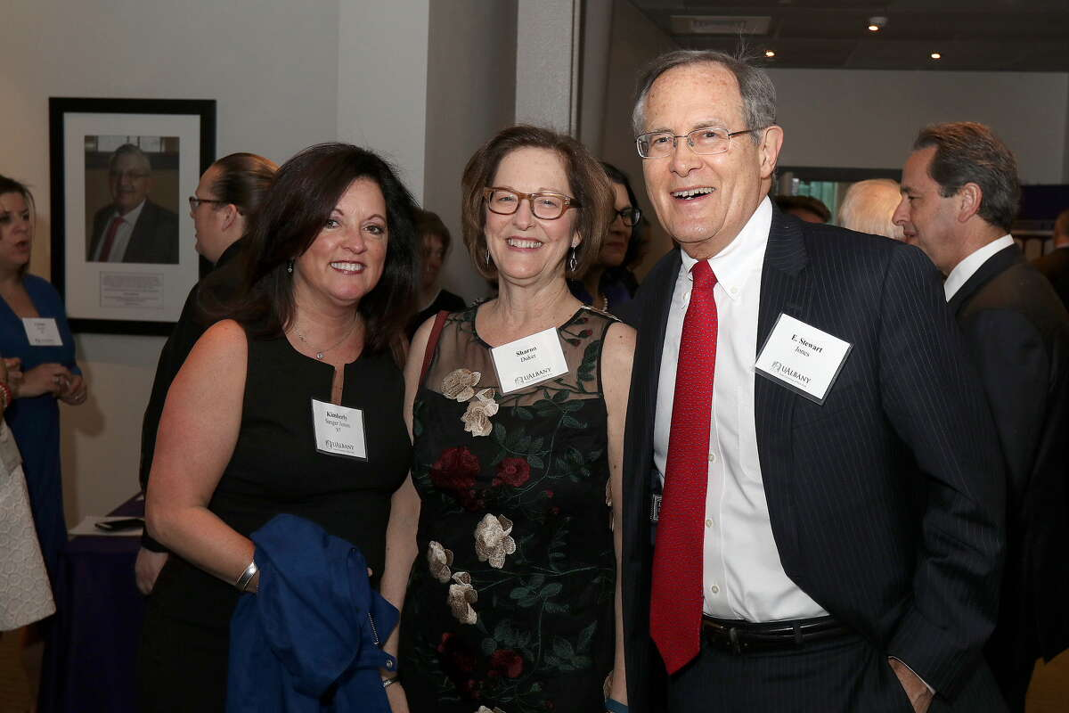 Were you Seen at the Pre-Inauguration Dinner celebrating the 20th President of the University at Albany Dr. Havidán Rodríguez and his wife Rosy López at the Cancer Research Center on the UAlbany Health Sciences Campus on Thursday, April 12, 2018?
