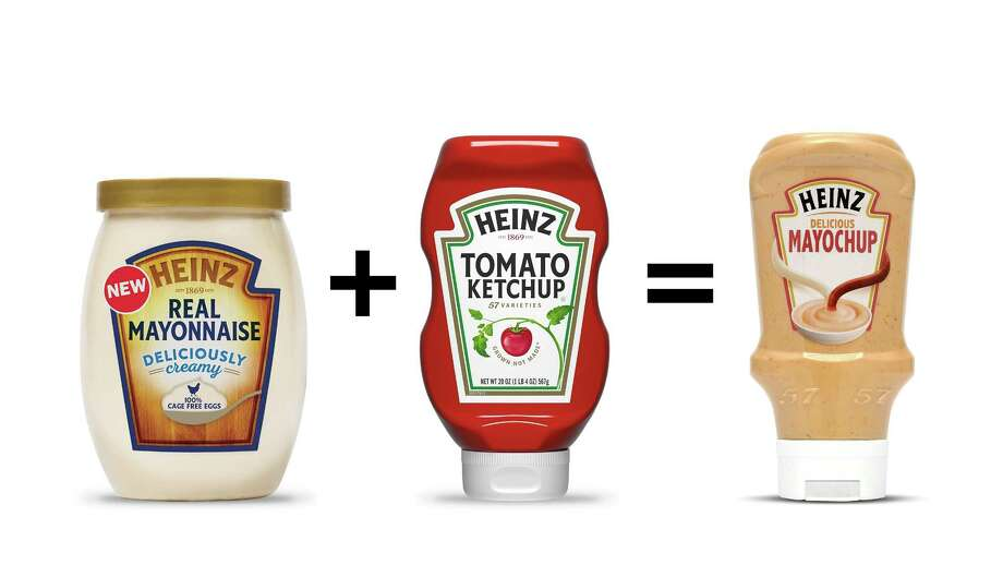 "Heinz launches a social media campaign for ""mayochup"" on April 12. Photo: Heinz. / The Washington Post"