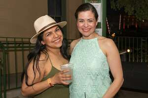 """"""" Viva Fiesta: The Official Kick-Off Party to Fiesta """" brought DJs, vendors, food and drinks to Smoke at St. Paul Square on Thursday, April 12, 2018. The party was held a week before Fiesta Fiesta, the commission's official kickoff at the Alamo on Thursday, April 19, 2018."""