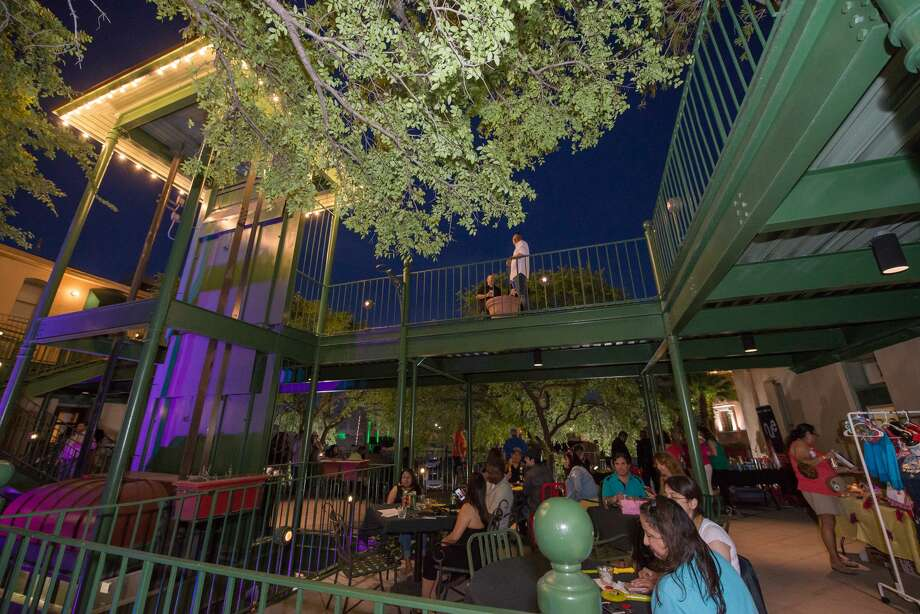 Smoke BBQ owner Adrian Martinez came up with the idea to host a music event with more than 30 musicians and DJs on his property on Friday, hours after Austin officials announced SXSW would not happen this year. A week later, on March 13, the brand new San Antonio music event will take over the St. Paul Square spot. Photo: Kody Melton, For MySA.com