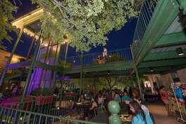 """""""Viva Fiesta: The Official Kick-Off Party to Fiesta"""" brought DJs, vendors, food and drinks to Smoke at St. Paul Square on Thursday, April 12, 2018. The party was held a week before Fiesta Fiesta, the commission's official kickoff at the Alamo on Thursday, April 19, 2018."""