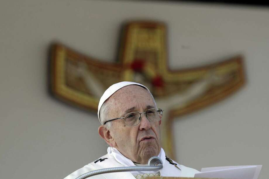 """In a 2013 interview Pope Francis said: """"I see clearly that the thing the church needs most today is the ability to heal wounds and to warm the hearts of the faithful."""" (AP Photo/Gregorio Borgia) Photo: Gregorio Borgia, STF / Associated Press / Copyright 2018 The Associated Press. All rights reserved."""