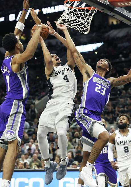 Rookie guard Derrick White got to know I-35 quite well this season. Photo: Tom Reel /San Antonio Express-News / 2017 SAN ANTONIO EXPRESS-NEWS