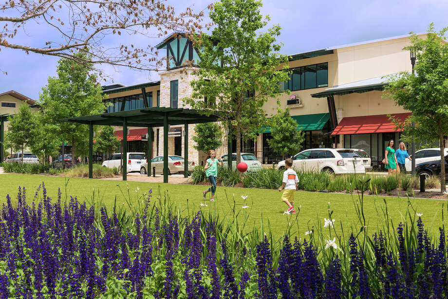 Several new tenants will join other service providers, retailers and restaurants at Creekside Park Village Green in The Woodlands. Photo: The Howard Hughes Corp. / Ted Washington