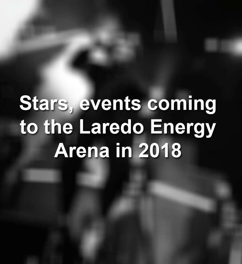 Scroll through to see the concerts and events that will take place at the Laredo Energy Arena this year. Photo: Laredo Morning Times