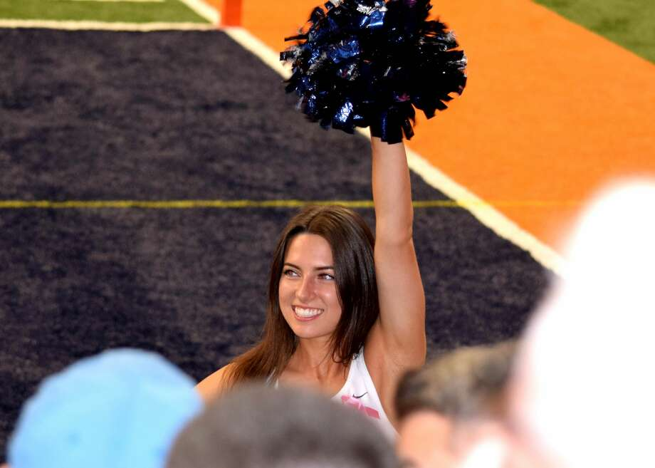 Lauren Daniska on the Syracuse University dance team. Photo: Daniska Family