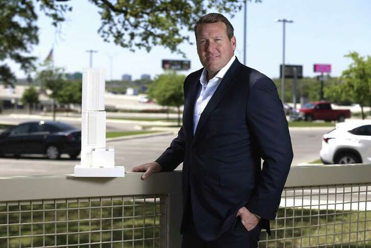 Portraits of Mike Lynd, CEO of Kairoi Residential and former leader of the Lynd Co. development firm, for the latest installment of our Texas Power Brokers series. (Kin Man Hui/San Antonio Express-News)