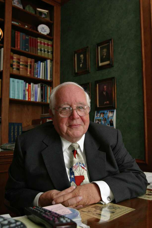 Former judge Paul Pressler, shown here in 2004, has been accused by three men of sexual misconduct. Photo: MICHAEL STRAVATO, STR / AP / AP