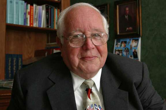 Former judge Paul Pressler, shown here in 2004, has been accused by three men of sexual misconduct.