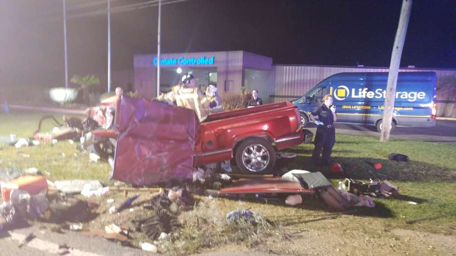 A suspected drunken driver died Friday, April 13, after leading Galveston County sheriff's deputies on a pursuit from Bacliff to Seabrook. Photo: Galveston County Sheriff's Office