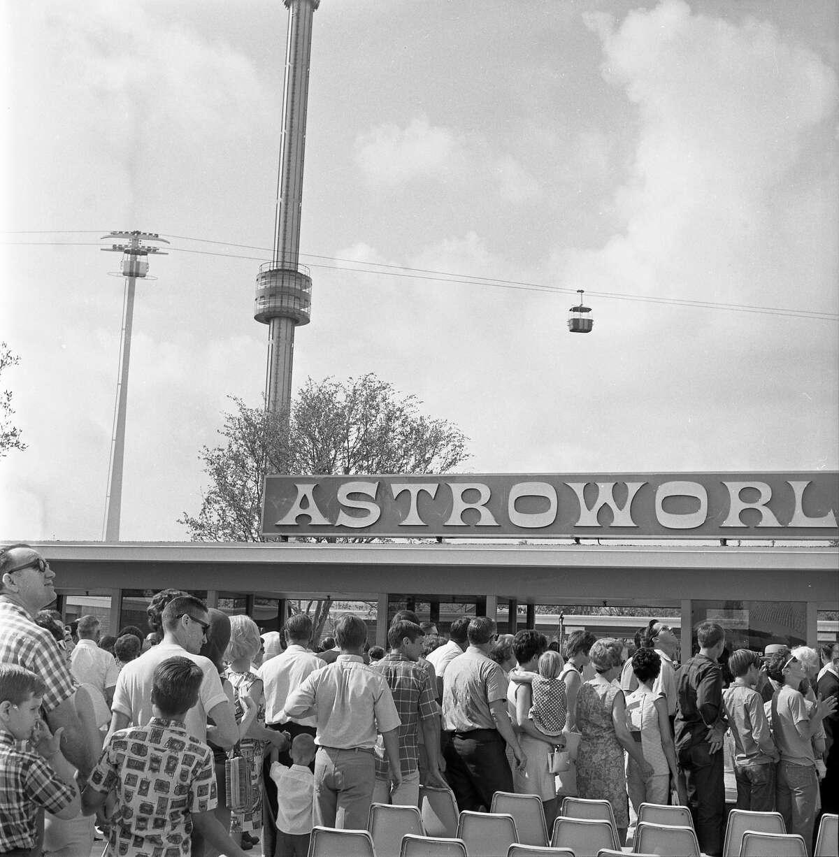 AstroworldSummers were best spent at Houston's amusement park.