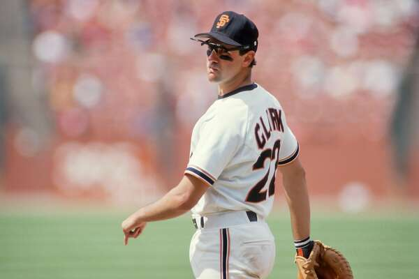 SAN FRANCISCO -  1987:  Will Clark of the San Francisco Giants plays in a Major League Baseball game against the St. Louis Cardinals in 1988 at Candlestick Park in San Francisco, California. (Photo by David Madison/Getty Images)