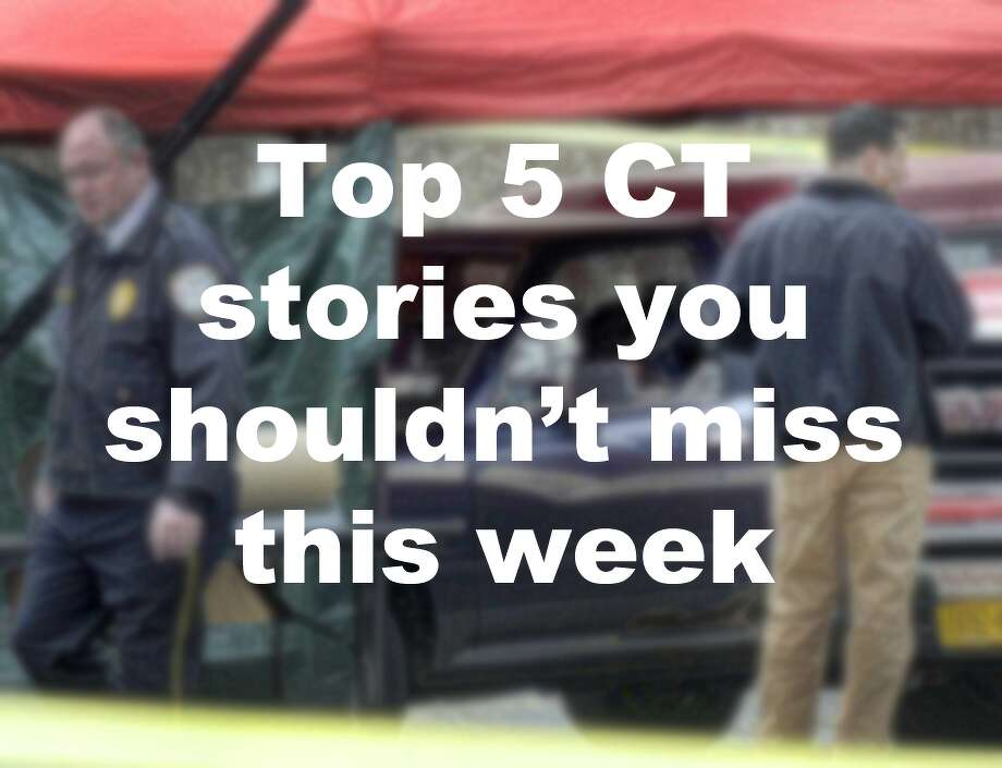 Here are the top five Connecticut stories you shouldn't miss this week: Photo: Carol Kaliff / Hearst Connecticut Media