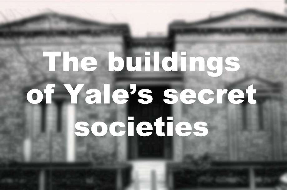 Click through the slideshow to see some of the buildings of Yale University's secret societies: Photo: Hearst Connecticut Media File Photo