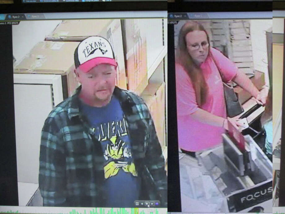 A man and woman seen on surveillance video are wanted for robbing a Kohl's department store in west Harris County earlier this year, and authorities are willing to pay up to $5,000 for help finding them. Houston Crime Stoppers offers a reward up to $5,000 for anyone who provides info to help find the robbers. Anyone with information is urged to call 713-222-TIPS (8477) Photo: Harris County Sheriff's Office