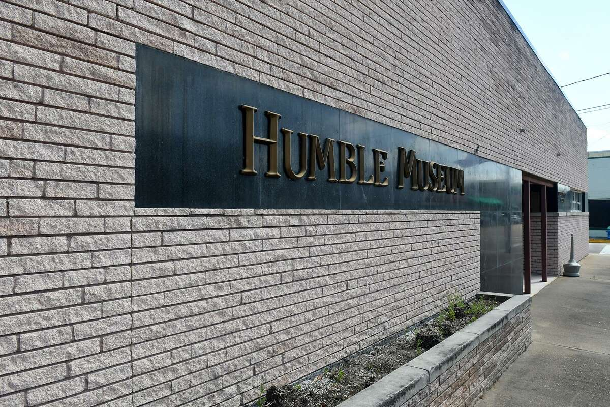 The Humble Museum, located at 219 E. Main St., remains closed after the damage it sustained from Hurricane Harvey. (Photo by Jerry Baker/Freelance)