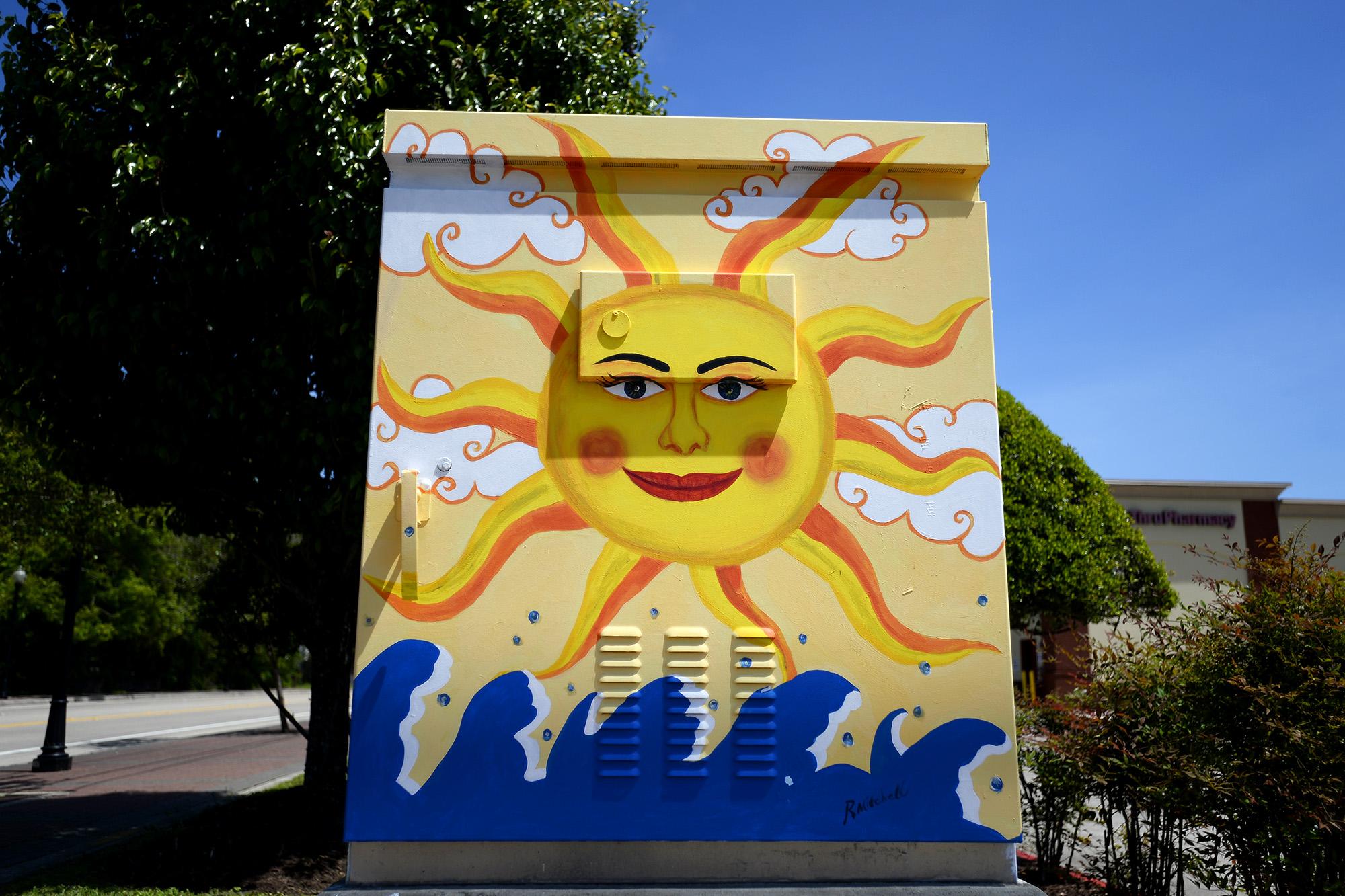 Photos: Colorful murals dot Beaumont traffic boxes - Beaumont Enterprise