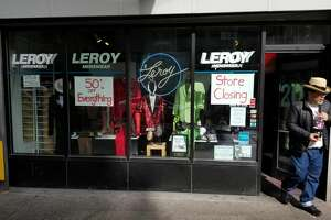 Leroy Menswear, on Pike Street in downtown Seattle, is closing for good Saturday after 37 years in business.