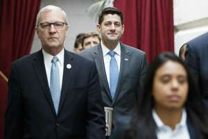House Speaker Paul Ryan (right) is one of the more reliable enablers of a president who forfeited any claim of decency..