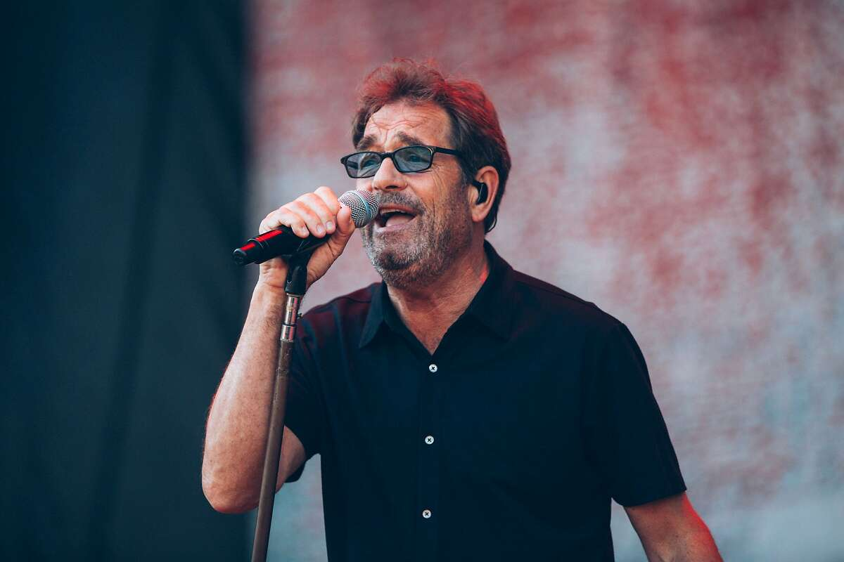 Huey Lewis of Huey Lewis And The News performs at Shaky Knees Music Festival at Centennial Olympic Park on May 14, 2016 in Atlanta, Georgia. (Ryan Myers/imageSPACE/Sipa USA/TNS)