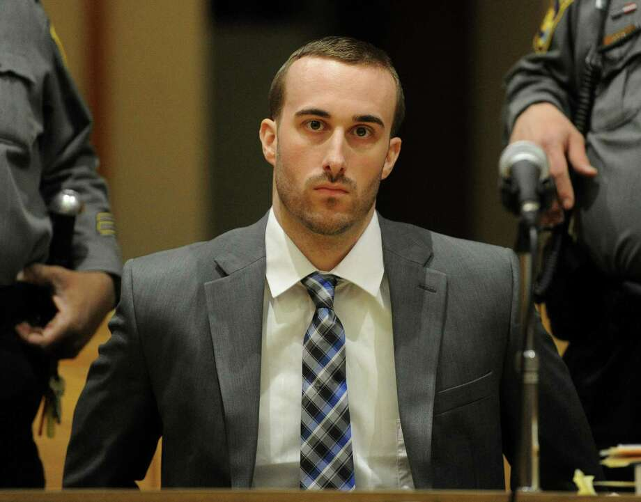 Kyle Navin faces 55 years in prison after he pleaded guilty Monday afternoon to fatally shooting his Easton parents. Photo: Brian A. Pounds / Hearst Connecticut Media / Connecticut Post