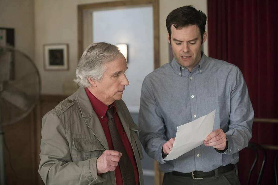 """Henry Winkler co-stars with Bill Hader in HBO's """"Barry."""" Photo: HBO"""