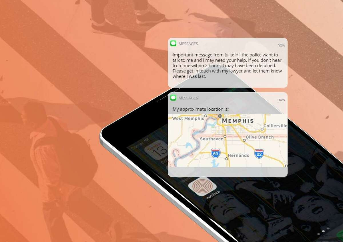 Notifica, available at Android and Apple stores, is a mobile app to help undocumented immigrants to have and activate a plan if they are at risk to be detained by immigration authorities.
