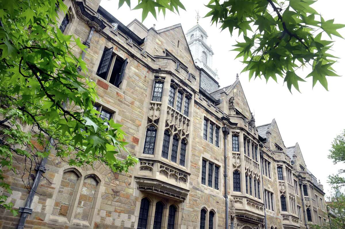 Yale University's John Davenport College in New Haven.