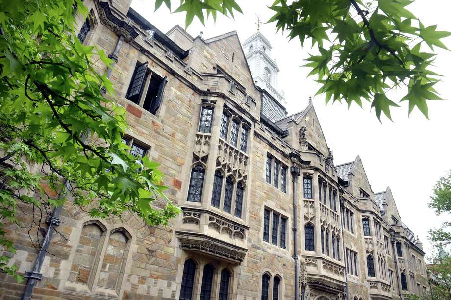 Yale University's John Davenport College in New Haven. Photo: Arnold Gold / Hearst Connecticut Media