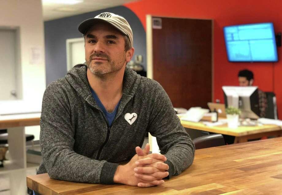 Ben Berkowitz, CEO of SeeClickFix, at the company's New Haven office. Photo: Dan Haar / Hearst Connecticut Media