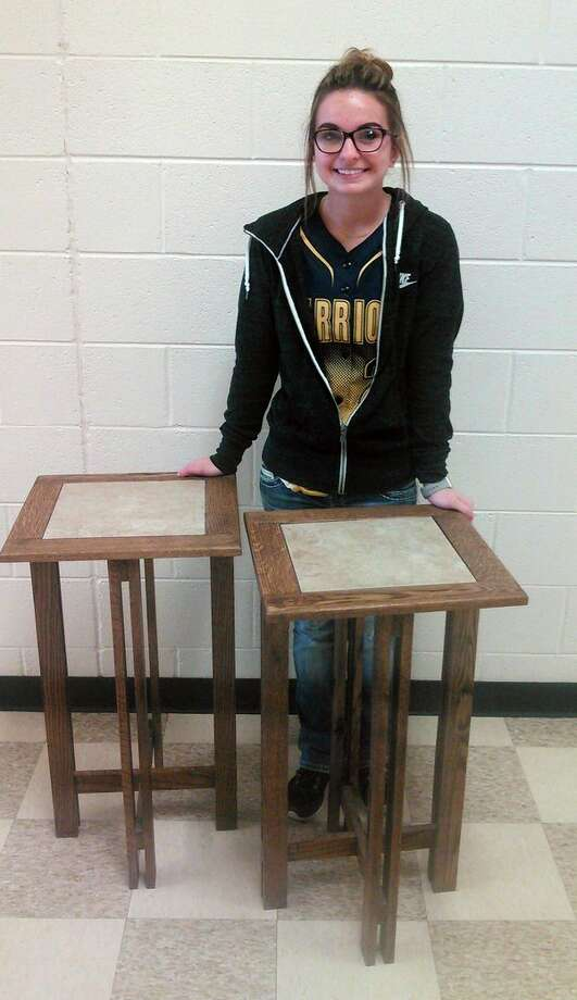 North Huron Schools became one of 18 schools in the state to recently receive state certification for its woodworking course. (Submitted Photo)
