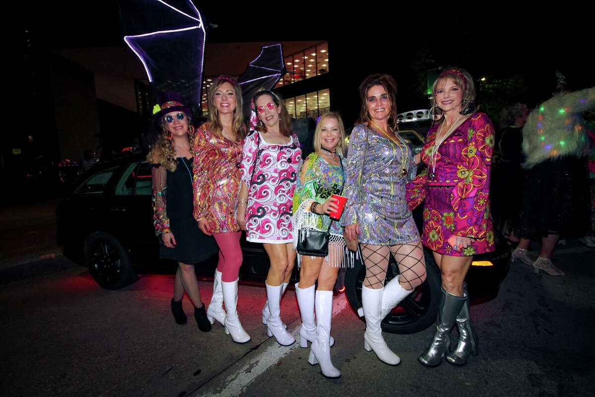 The Houston Art Car Committee hosted the 2018 Legendary Art Car Ball at Hermann Square Park on April 13th, 2018 in Downtown Houston, Texas. (Photo by Marco Torres/Freelance)