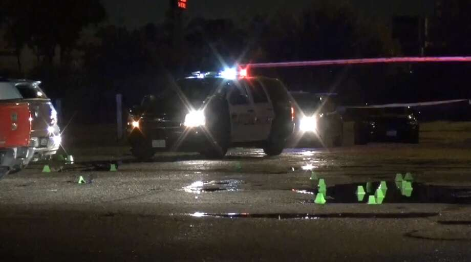 Houston Police were called to the 7700 block of the East Freeway, near Pleasantville, after the man shot at a security guard while driving away from the club. The security guard was hit in the stomach, police said.