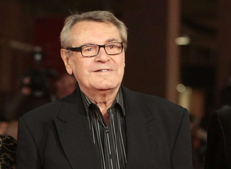 "FILE - In this Oct. 15, 2009, file photo, film festival jury member Milos Forman poses on the red carpet at the IV edition of the Rome Film Festival in Rome. Forman, whose American movies ""One Flew Over the Cuckoo's Nest"" and ""Amadeus"" won a deluge of Academy Awards, including best director Oscars, died Saturday, April 14, 2018.  (AP Photo/Gregorio Borgia) Photo: Gregorio Borgia, Associated Press"