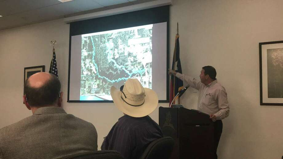 The Woodlands Drainage Task Force met on Tuesday, April 10 to discuss post-Harvey updates from villages across the area. Photo: Michelle Iracheta / Michelle Iracheta